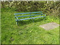 TM1857 : Seat off the B1077 Helmingham Road by Adrian Cable
