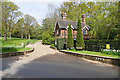 TQ0247 : Gate lodge, Chilworth Manor by Alan Hunt