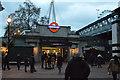 TQ3080 : Embankment Station by N Chadwick