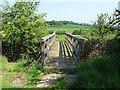 SK5127 : Footbridge over Kingston Brook by Ian Calderwood