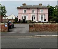 ST3049 : Grade II listed Tregunter, Burnham-on-Sea  by Jaggery