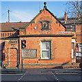 SK5839 : Sneinton: former police station by John Sutton