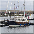 J5082 : Yacht 'Archimede' at Bangor by Rossographer