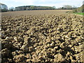 SP9003 : Ploughed field near to Field End Grange by Peter S