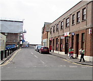 ST3049 : West along Vicarage Street, Burnham-on-Sea by Jaggery