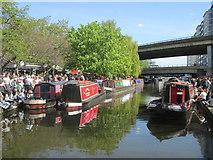 TQ2681 : IWA (Inland Waterways Association) Canalway Cavalcade 2016 by Peter S