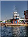 SJ8097 : Salford Quays Operations Tower by David Dixon