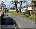 SM9310 : Warning sign - Hebryngwr/Patrol, Johnston by Jaggery