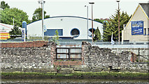 J3473 : Bank, River Lagan, Ravenhill Road, Belfast - May 2016(1) by Albert Bridge