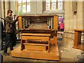 SE3171 : Ripon Cathedral - moving the organ console by Stephen Craven
