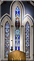 TF1377 : East window, All Saints' church, Wragby by Julian P Guffogg