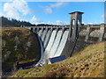 SH9552 : Alwen reservoir dam overflowing by John Haynes