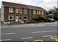 SN7905 : Row of four houses, Main Road, Crynant by Jaggery