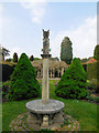 SU4200 : Sundial - Exbury Gardens by Paul Gillett