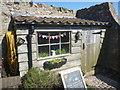 NU1341 : Coastal Northumberland : Potting Shed In Lindisfarne Castle Walled Garden by Richard West