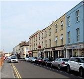 ST3049 : On-street parking, College Street,  Burnham-on-Sea by Jaggery