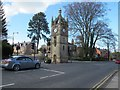 SE3171 : Victoria clock tower, North Road, Ripon by Stephen Craven