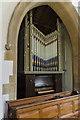 SK9396 : Organ, St Radegund's church, Grayingham by Julian P Guffogg