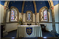 TF0376 : Altar and apse, St Edward's church, Sudbrooke by J.Hannan-Briggs