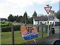 SN5320 : Road junction at Llanarthne by M J Richardson