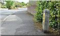 J4582 : Fire hydrant post, Helen's Bay (May 2016) by Albert Bridge
