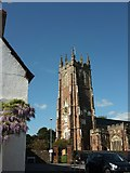 ST0207 : St Andrew's church, Cullompton by Derek Harper