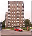 SE2832 : Wortley Towers, Tong Road, New Wortley by Stephen Craven