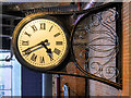 SJ8497 : Piccadilly Station Clock by David Dixon