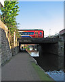 SK5739 : Crossing the Nottingham Canal by John Sutton