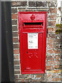 TM0753 : Barking Hall George V Postbox by Adrian Cable