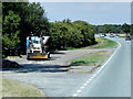 TF0637 : Layby on the Westbound A52 by David Dixon