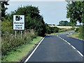 TF0337 : Westbound A52, Average Speed Check Warning by David Dixon