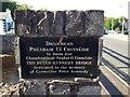 G9378 : Plaque, Peter Kennedy Bridge by Kenneth  Allen