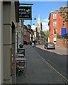 SK5739 : High Pavement: outside the Hungry Pumpkin by John Sutton