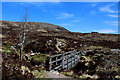 NN2256 : Footbridge over the Allt a' Mhain by Chris Heaton