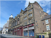 NZ2364 : Westgate Hall Buildings, Westgate Road / Corporation Street, NE4 (2) by Mike Quinn