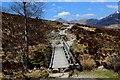 NN2159 : Footbridge across the Allt a' Choire Odhair-mhòir by Chris Heaton