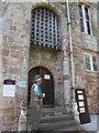 NY6819 : Appleby Castle: portcullis by Stephen Craven
