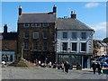 NU1813 : Market Place (east side), Alnwick by Robin Drayton