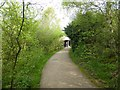 SP0934 : Path to the National Trust shop and reception, Snowshill Manor by David Smith