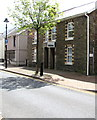 SN7810 : Solicitors' office at 22 Station Road, Ystradgynlais by Jaggery