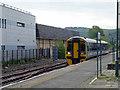 SN5881 : An Arriva train arrives at Aberystwyth by John Lucas