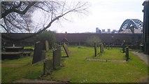 NZ2564 : Graveyard, All Saints Church, Newcsatle by Simon Cotterill