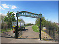TQ4282 : The Greenway in East Ham by Des Blenkinsopp