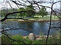 NS3979 : Pipe and River Leven by Lairich Rig