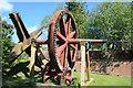 SP7420 : Quainton windmill - windshaft by Chris Allen
