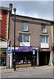 SS7597 : Nuts 4 Kuts Barbers, Windsor Road, Neath by Jaggery
