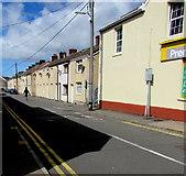 SS7597 : Sunny side of Elias Street, Neath by Jaggery