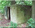 TF9037 : WW2 Ammunition lock-up by Evelyn Simak