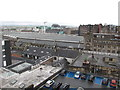 NS5865 : Glasgow Central Station roof from The Lighthouse by David Hawgood